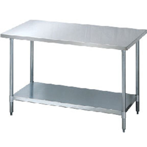 Catalog Galvanized Utility Table With Shelf Kd Style