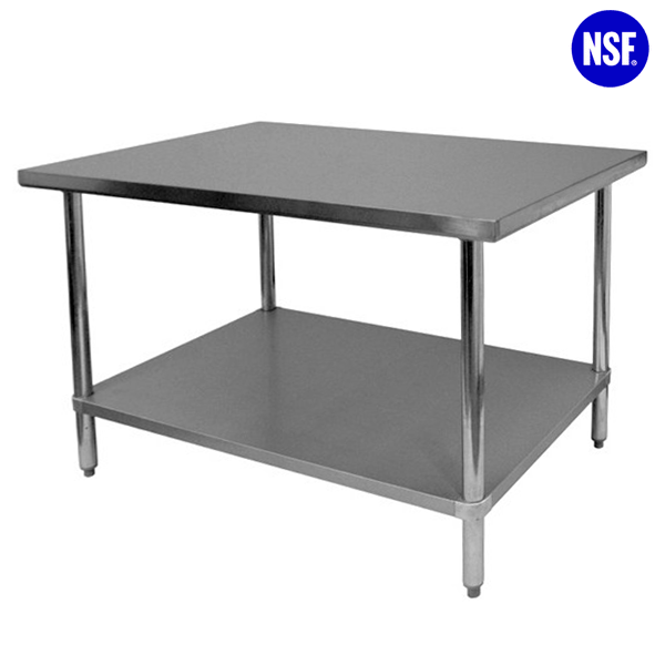 Catalog Stainless Steel Nsf Approved 4 Legs Work Table