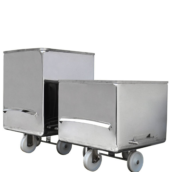 MPBS Industries 400 lb Stainless Steel Buggies