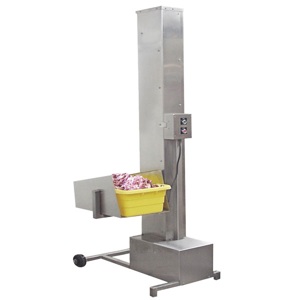 Stainless Steel Food Processing Products Catalog | MPBS Industries 100 Tote Dumper | MPBS Industries