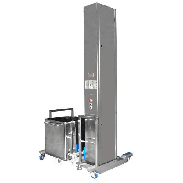 Meat Grinder For Sale >> Catalog | MPBS Industries M13 SBLD Stationary Cart Lift ...