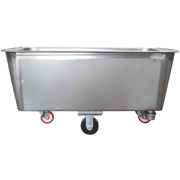 Stainless Steel Tub Truck