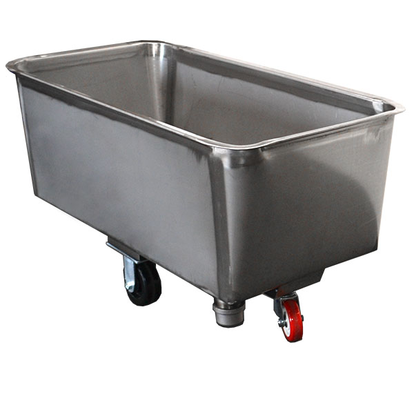 Stainless Wash Tub : Catalog Stainless Steel Tub Truck MPBS Industries