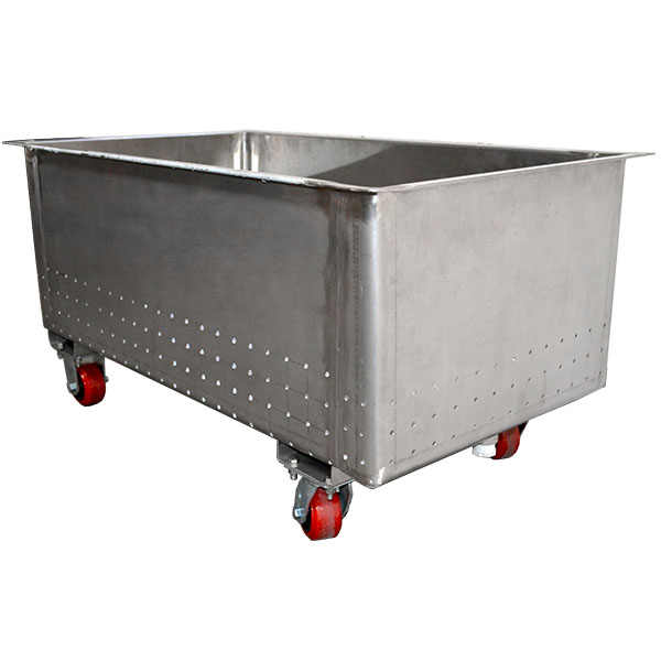 Stainless Steel Perforated Bottom and Sides Truck