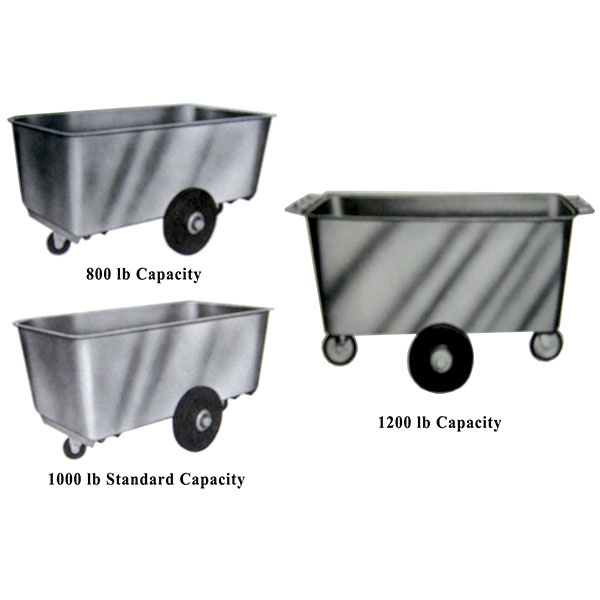 Stainless Steel Tub Trucks