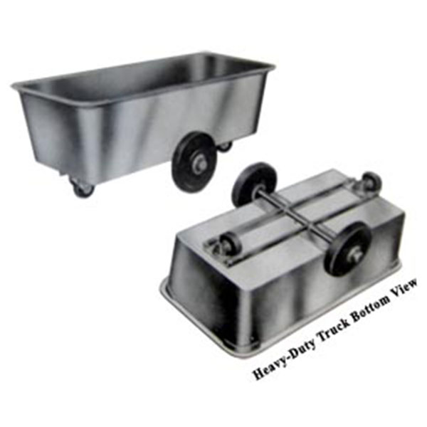 Stainless Steel Tub Truck 1000-HD