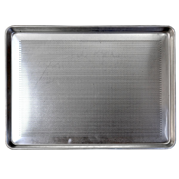 Perforated Bottom Aluminum Platters