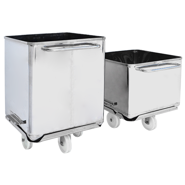 MPBS Industries 600 lb Clean Tech Buggies with Removable Base
