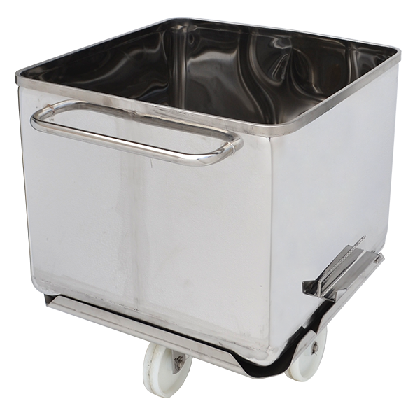 MPBS Industries 400 lb Clean-Tech Buggy with Removable Base