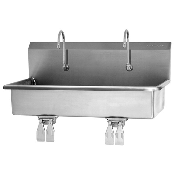 Catalog Sani Lav 2 Person Wall Mount Sink Mpbs Industries