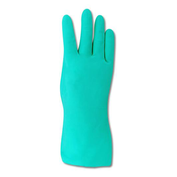 Catalog Green Nitrile Rubber Unlined Wash Up Gloves