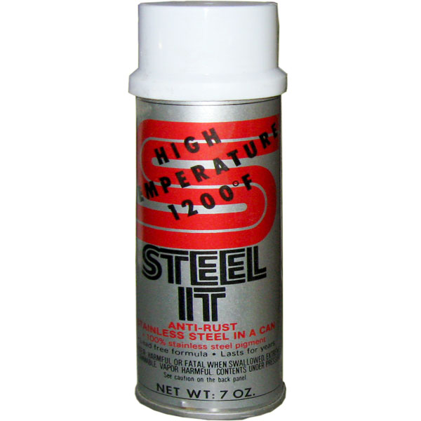 Steel It Coating Heat Resistant Spray Can